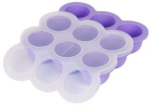 kiddo coperchio contenitori per congelare pappe brodi omogeneizzati per bambini