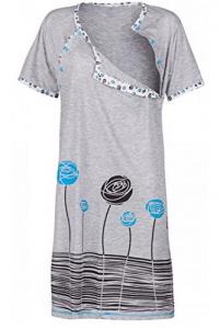 camicia da notte da allattamento