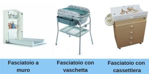 I vari tipi di fasciatoi