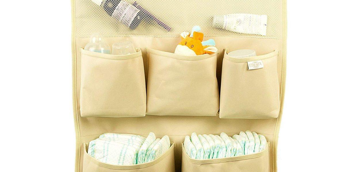 Porta Pannolini da Appendere a Parete – Come organizzare il fasciatoio per avere tutto a portata di mano?