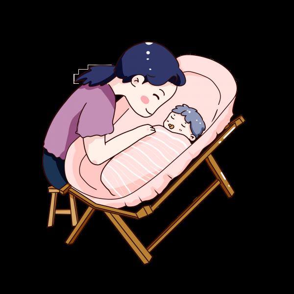 Come addormentare un neonato nel lettino?