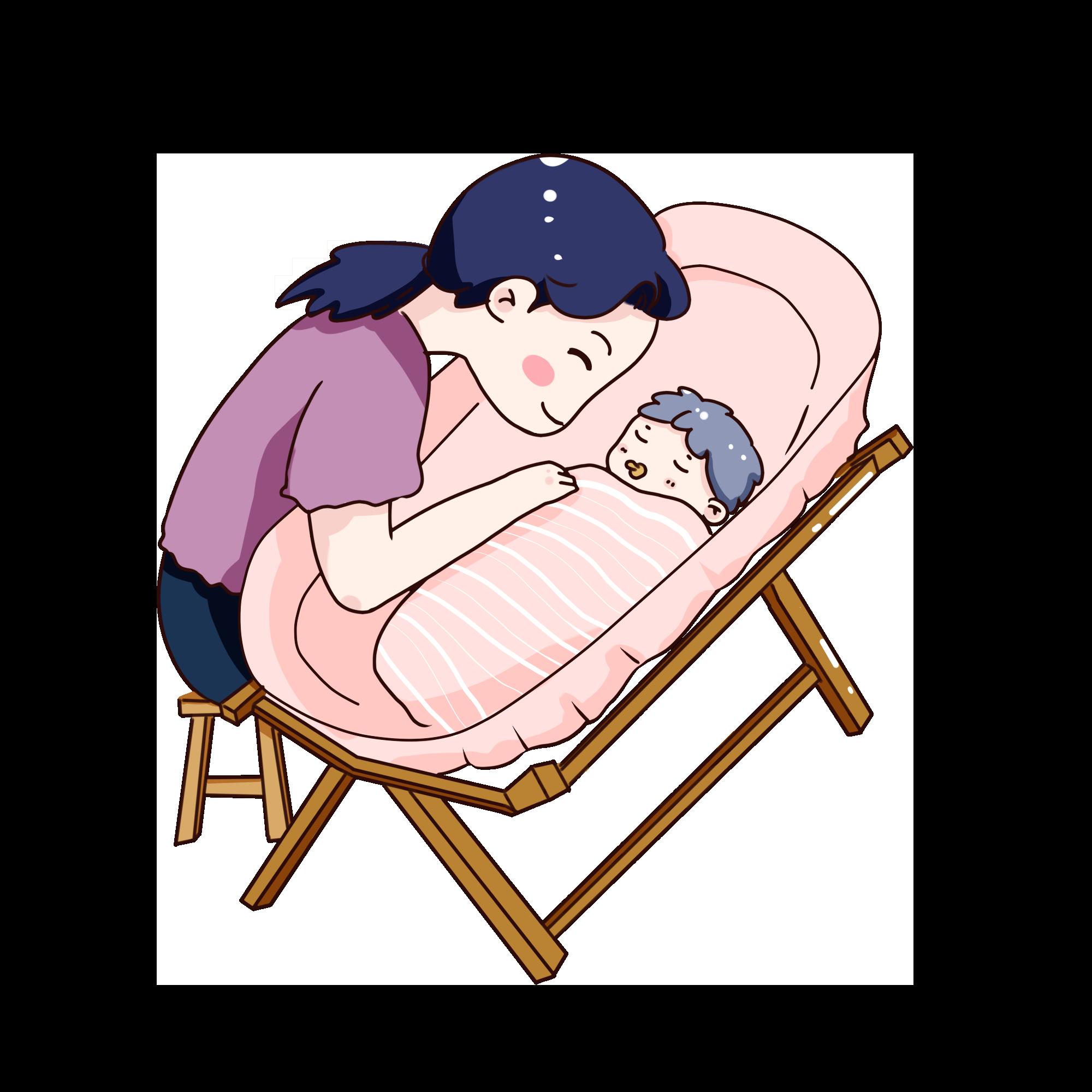 come addormentare un neonato nel suo lettino